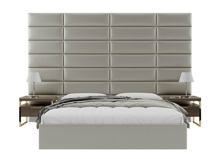 Tete de lit capitonnee design