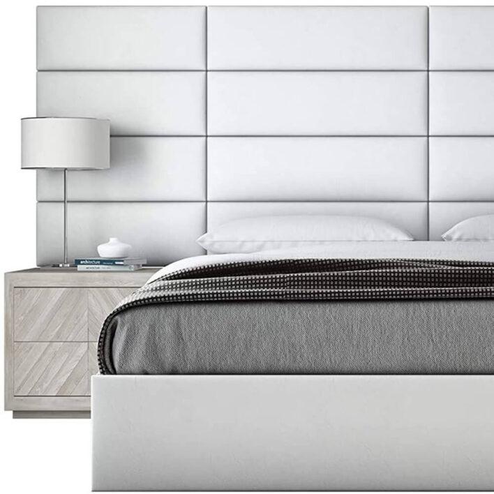 tete de lit blanche