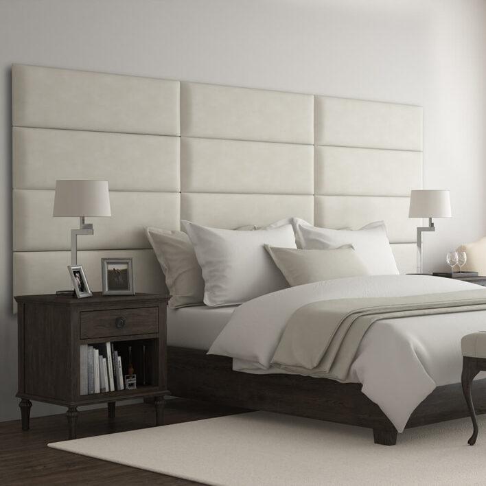 tête de lit moderne beige